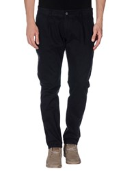 Minimal Trousers Casual Trousers Men Dark Blue