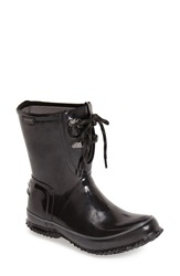 Bogs Waterproof Rubber Boot Women Black