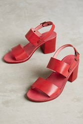 Anthropologie Lien. Do By Seychelles State Of Mind Slingback Sandals Red