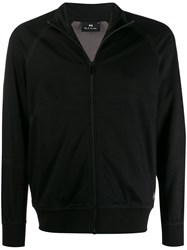 Paul Smith Ps Zip Front Track Jacket Black