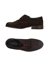 Daniele Alessandrini Lace Up Shoes Dark Brown