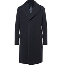 Lanvin Wool Blend Coat Blue