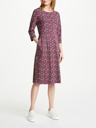 Seasalt Malthouse Dress Blueberries Aubergine