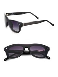 3.1 Phillip Lim Resin Sunglasses Black