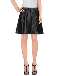 Pinko Grey Skirts Knee Length Skirts Women Black