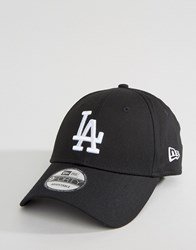 New Era 9Forty La Adjustable Cap Black