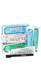 Marvis Classic Flavors And Toothbrush Set No Color