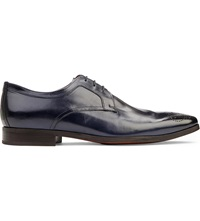 Kurt Geiger Fabio Leather Derby Shoes Navy