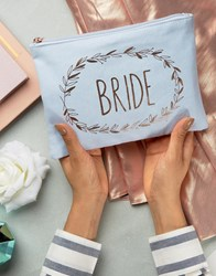 Paperchase Wedding Bride's Pouch Multi