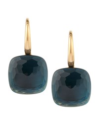 Nudo 18K London Blue Topaz Earrings Pomellato Pink