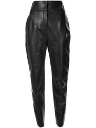 Roberto Cavalli High Waisted Cropped Trousers 60