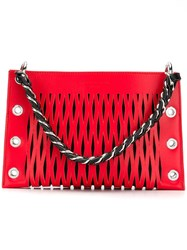 Sonia Rykiel Le Baltard Double Pouch Red