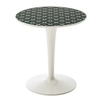 Kartell La Double J Tip Top Side Table Olive