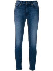 The Seafarer Stonewashed Skinny Jeans Blue