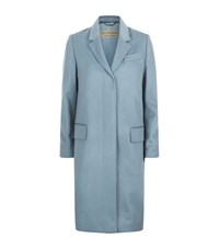 Burberry Tailored Cashmere Coat Female Sky