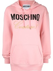 Moschino Couture Hoodie Pink