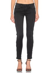 Etienne Marcel Lace Up Skinny Black