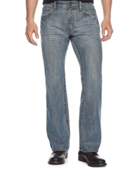 Inc International Concepts Echo Boot Jeans Light Wash