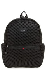 State Bags Lacrosse Mesh Kane Backpack Black