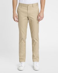 Lacoste Beige Crocodile Pocket Slim Chinos