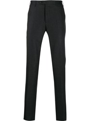 Corneliani Slim Fit Tailored Trousers Grey