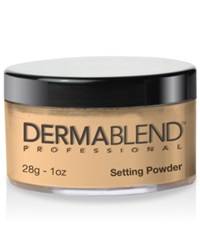 Dermablend Loose Setting Powder 1 Oz. Warm Saffron