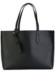 Burberry 'Lavenby' Medium Reversible Shopper Women Calf Leather One Size Black