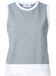 Thom Browne Classic Shell Top Grey