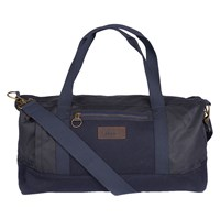 Barbour Gisburn Waxed Cotton Holdall Navy