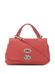 Zanellato Satchel Cross Body Bag Pink
