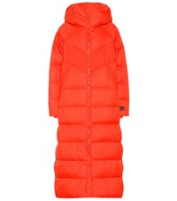 Nike Down Filled Puffer Coat Red