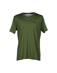 Carven T Shirts Military Green