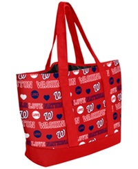 Forever Collectibles Washington Nationals Tote Bag Red