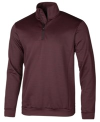 Ideology Id Men's Mock Neck Quarter Zip Shirt Created For Macy's Port Dye