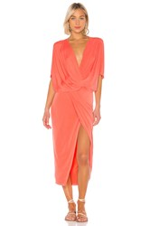Yfb Clothing Luana Dress Orange