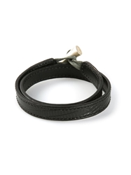 Jvdf Solid Toggle Bracelet Black