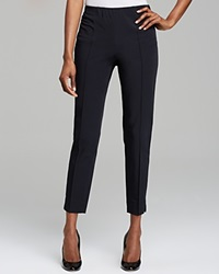 Basler Slim Ankle Trousers Bloomingdale's Exclusive Marine