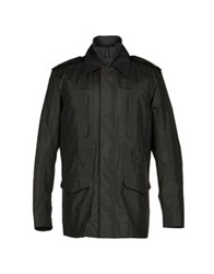 Zegna Sport Mid Length Jackets Black