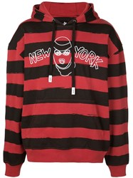 Haculla New Yorker Robber Hoodie Red