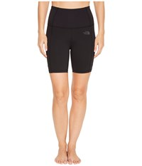 The North Face Motivation High Rise Pocket Shorts Tnf Black Women's Shorts