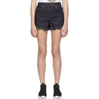 Red Valentino Indigo Denim Shorts