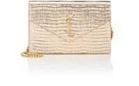 Saint Laurent Women's Monogram Envelope Chain Wallet Gold