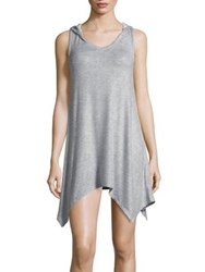 Roudelain Sleeveless Chemise With Hood Grey Trade