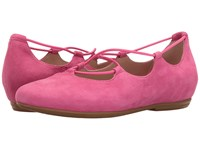 Essen Earthies Bright Pink Suede Women's Flat Shoes