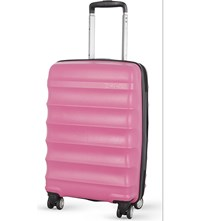 Antler Juno B1 Four Wheel Cabin Case 56Cm Pink
