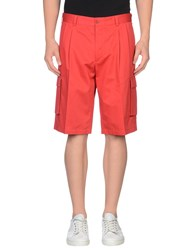 Paul And Shark Trousers Bermuda Shorts Men Red