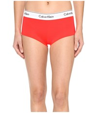 Calvin Klein Underwear Modern Cotton Boyshorts Bright Nectar Women's Yellow