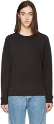 Earnest Sewn Black Ella Pullover