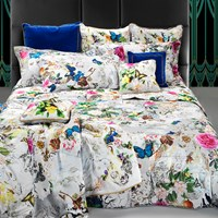 Roberto Cavalli Blaze Duvet Set Super King White