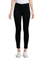 Candc California High Rise Ankle Jeans Black